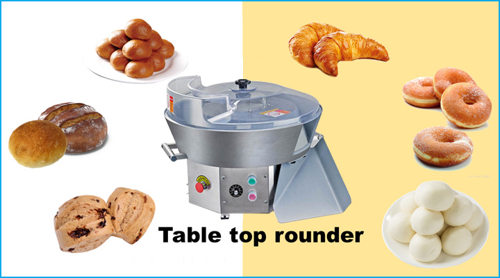 Khả năng vo viên tròn bột cho các loại bánh khác nhau