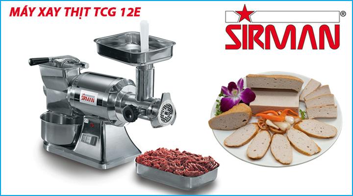 Máy xay thịt công nghiệp Sirman TCG 12E