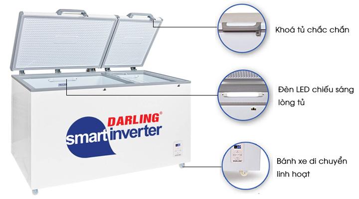 Các đặc điểm khác của tủ đông mát Darling DMF-7699WSI