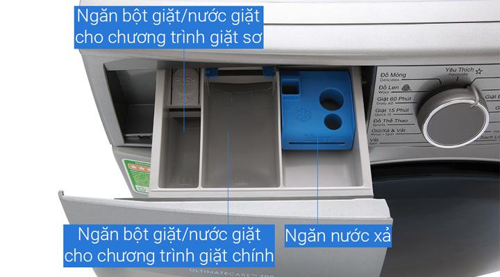 Ngăn đựngnước giặt xả của máy giặt Electrolux EWF9024ADSA