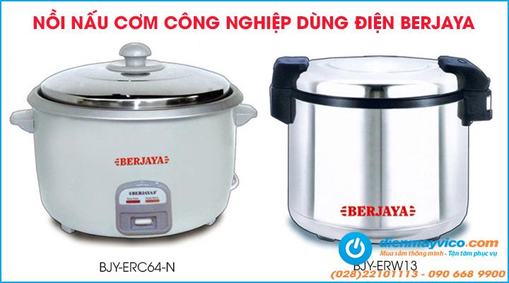 Nồi nấu cơm công nghiệp Berjaya dùng điện