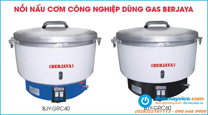 Nồi nấu cơm công nghiệp Berjaya dùng gas