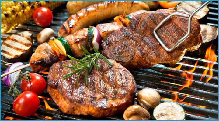 Bếp nướng được sử dụng để chế biến các món nướng thơm ngon và hấp đẫn