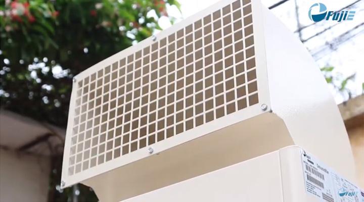 Thiết kế ống xả khí trên nóc giúp điều hướng đối lưu không khí tốt hơn