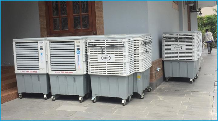 Quạt hơi nước cho thuê có công suất lớn