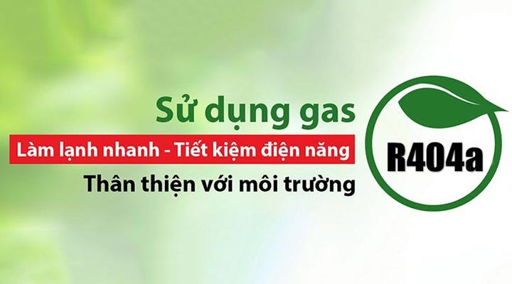 Sử dụng gas R404a tăng hiệu suất làm lạnh