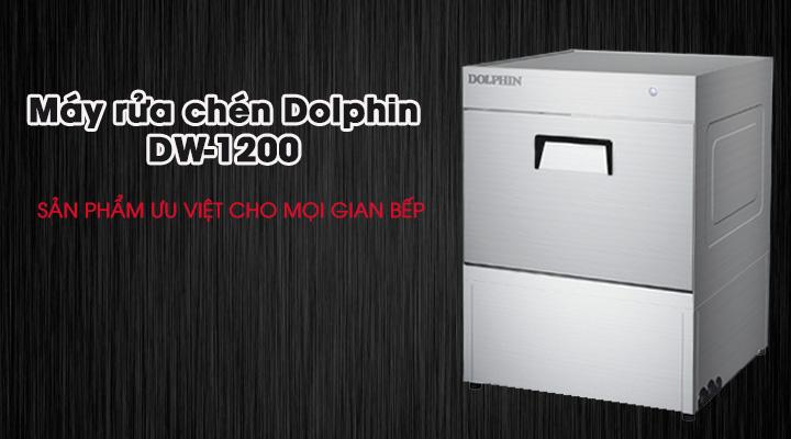 Máy rửa ly chén quầy bar Dolphin DW-1200