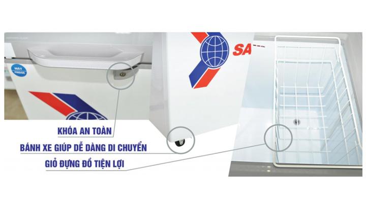 Thiết kế tủ đông mát nhiều tiện ích