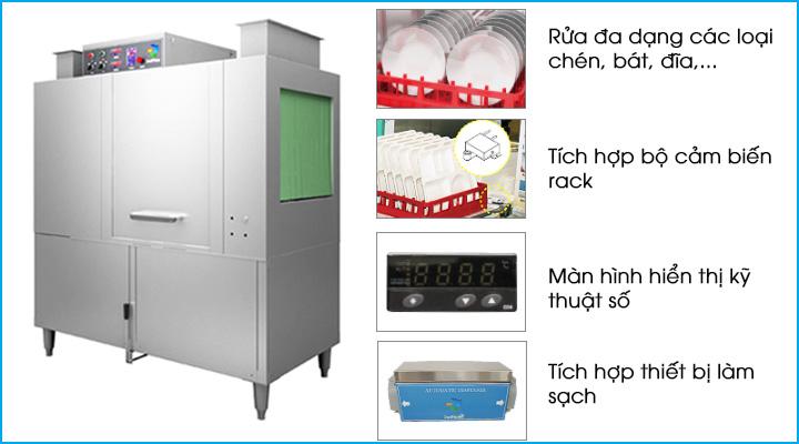 Công nghệ rửa chén hiện đại và tiện ích