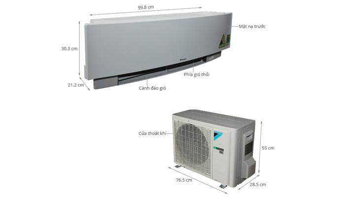 Tổng quan về máy lạnh treo tường Daikin FTKJ35NVMVW