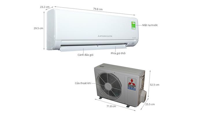 Tổng quan về máy lạnh treo tường Mitsubishi Electric MS-HL50VC