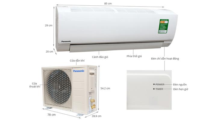 Tổng quan máy lạnh Panasonic CU/CS-KC12QKH-8