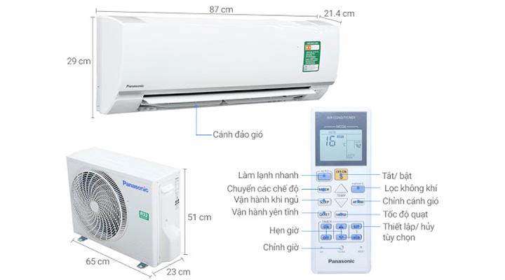 Tổng quan máy lạnh treo tường Panasonic N09SKH-8
