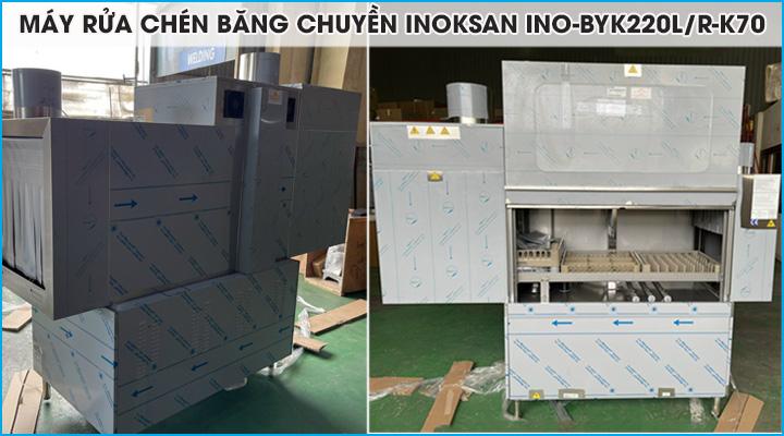 Tổng quan về máy rửa chén Inoksan INO-BYK220L/R-K70