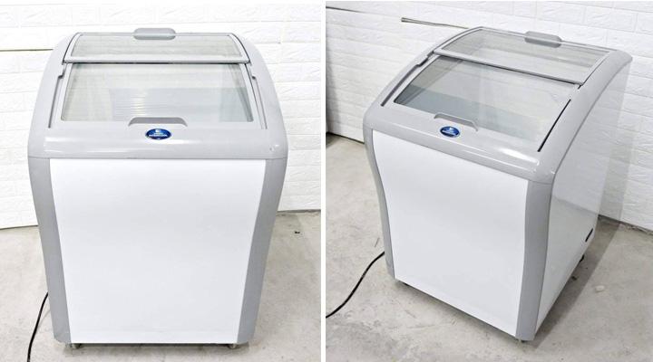 Tổng quan về tủ đông kính cong Sanden Intercool SNC-0145