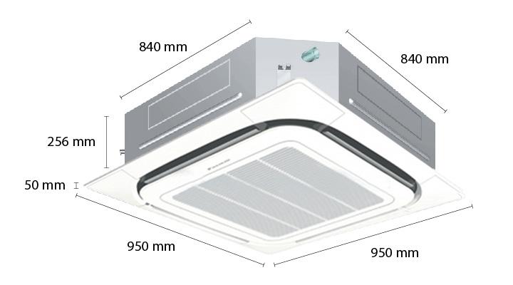 Tổng quan về máy lạnh âm trần Panasonic FCNQ26MV1 (3 Hp)