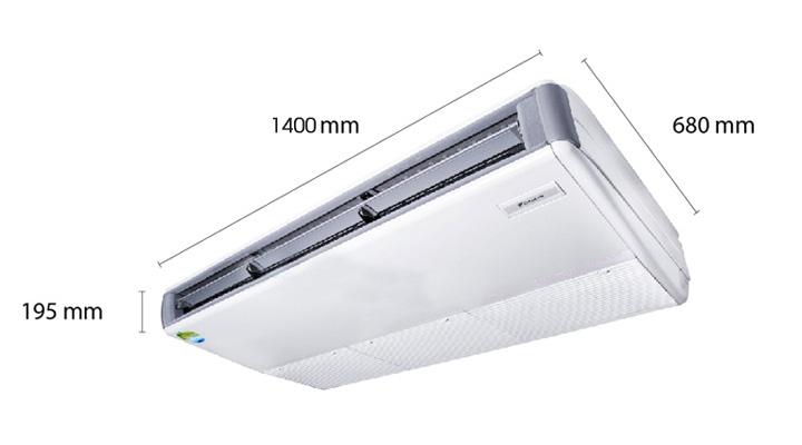 Mẫu máy lạnh áp trần Daikin FHNQ30MV1