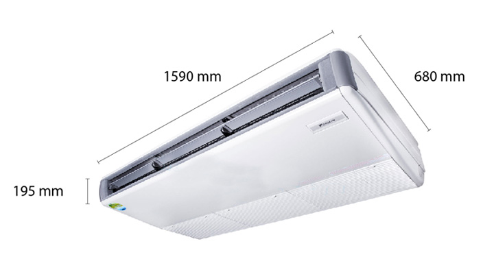 Tổng quan về máy lạnh áp trần Daikin FHNQ42MV1