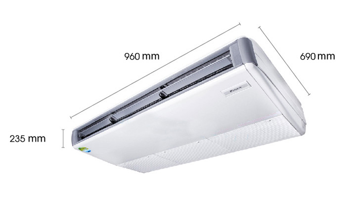 Tổng quan máy lạnh áp trần Daikin FHQ50DAVMA