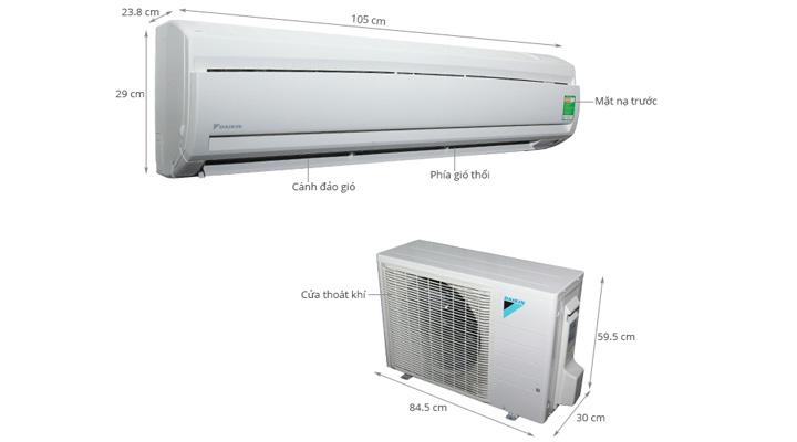 Tổng quan về máy lạnh treo tường Daikin FTNE60MV1V