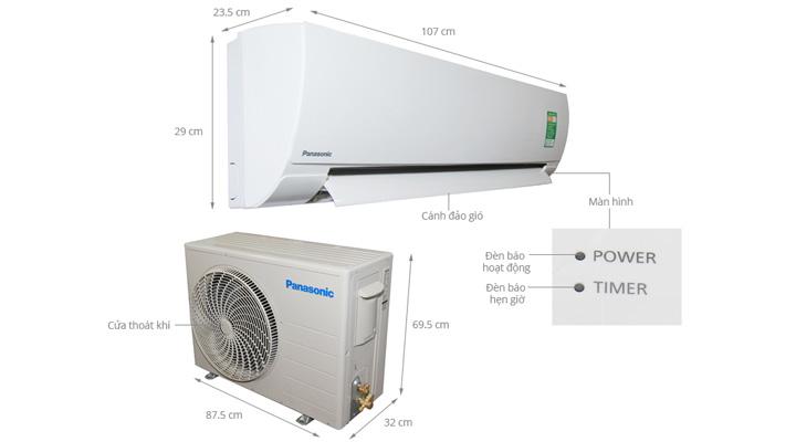 Tổng quan về máy lạnh treo tường Panasonic CU/CS-KC24QKH-8
