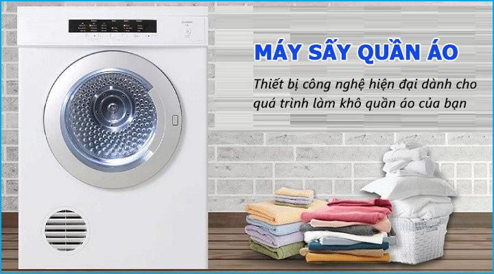 Tổng quan về máy sấy quần áo