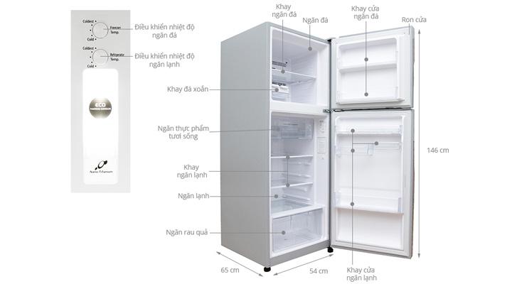 Tổng quan về tủ lạnh Hitachi Inverter R-H200PGV4