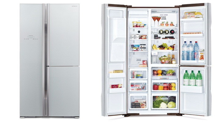 Mẫu tủ lạnh Hitachi R-M700PGV2 GS