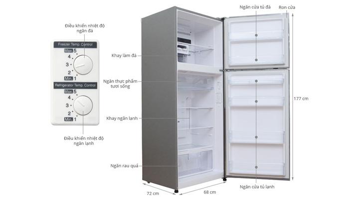 Tổng quan về tủ lạnh Hitachi R-V470PGV3