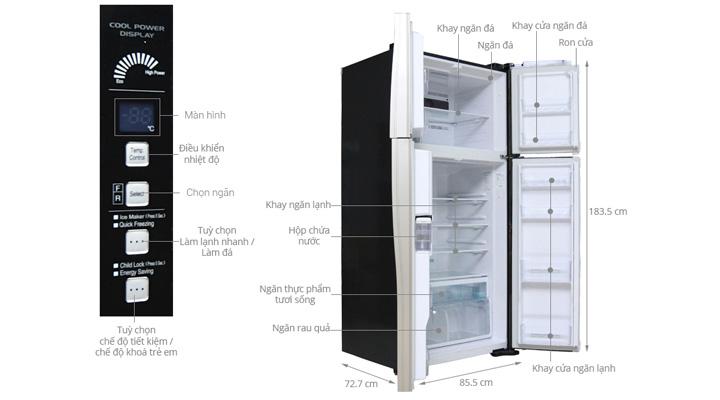 Tổng quan về tủ lạnh Hitachi R-W660FPGV3X