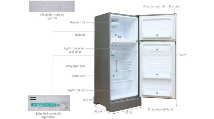 Tổng quan về tủ lạnh Sharp SJ-192E