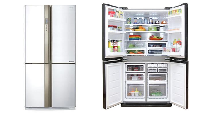 Tổng quan về tủ lạnh Sharp SJ-FX680V-WH
