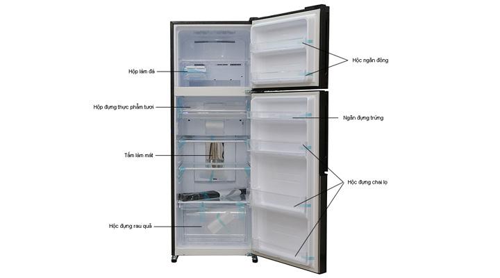 Tổng quan về tủ lạnh Sharp SJ-X430EM-BK
