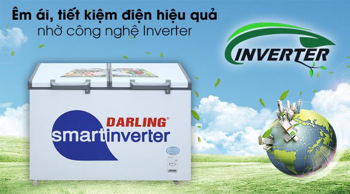 Tủ đông mát Darling DMF-4699WSI-4 sử dụng công nghệ Inverter