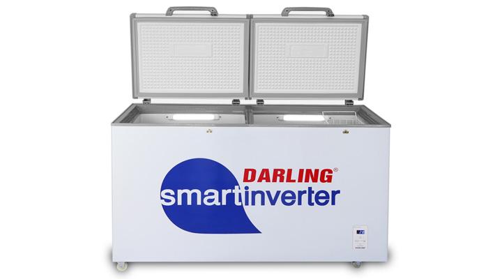 Tủ đông mát Darling Inverter DMF-4699WSI có 2 ngăn đông - mát tiện lợi