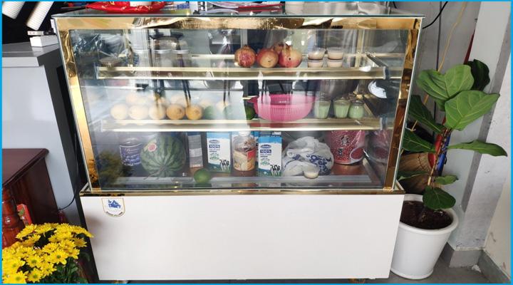 Tủ bánh kem nhập khẩu Trung Quốc