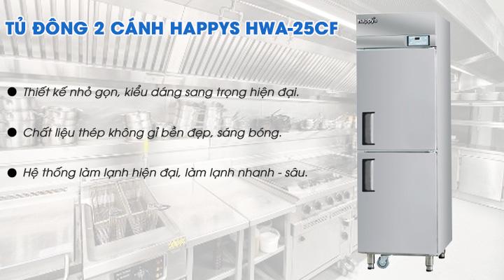 Tủ đông có thiết kế bền đẹp cùng công nghệ làm lạnh hiện đại