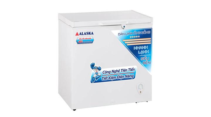 Tủ đông Alaska BD-200C làm lạnh nhanh và hiệu quả