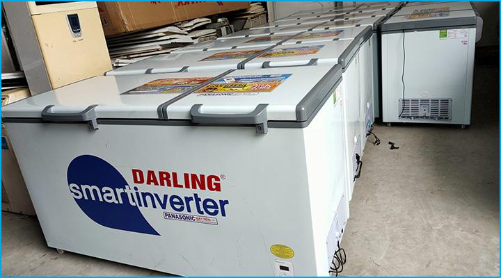 Kho hàng chứa lượng lớn tủ đông Darling DMF-7779ASI-1