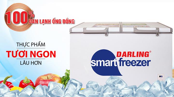 Tủ đông mát Darling DMF-4699WS-2 làm lạnh hiệu quả