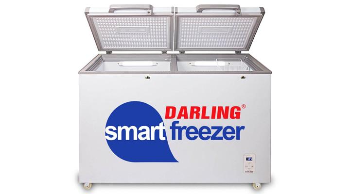 Tủ đông mát Darling DMF-2699WS có thiết kế 2 ngăn đông- mát riêng biệt