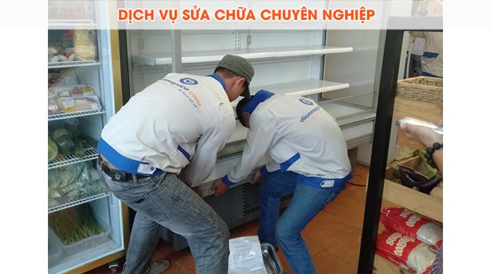 Dịch vụ sửa chữa chuyên nghiệp với đội ngũ nhân viên có tay nghề