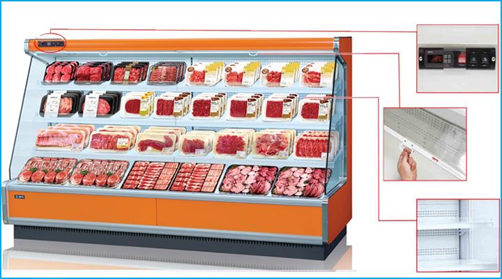 Tủ mát trưng bày Opo SMMR có thiết kế hiện đại