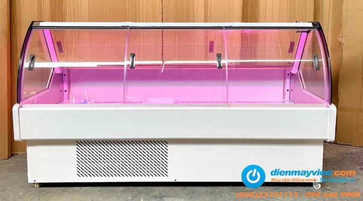 Tủ mát trưng bày thịt Snow Village 1m6 có thiết kế bền đẹp