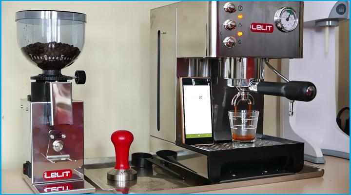 Ảnh  thực tế Máy pha cà phê Lelit Anna PL41EM