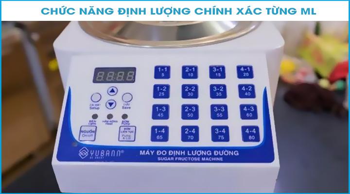 Bảng điều khiển Máy định lượng đường Yubann YB-16S