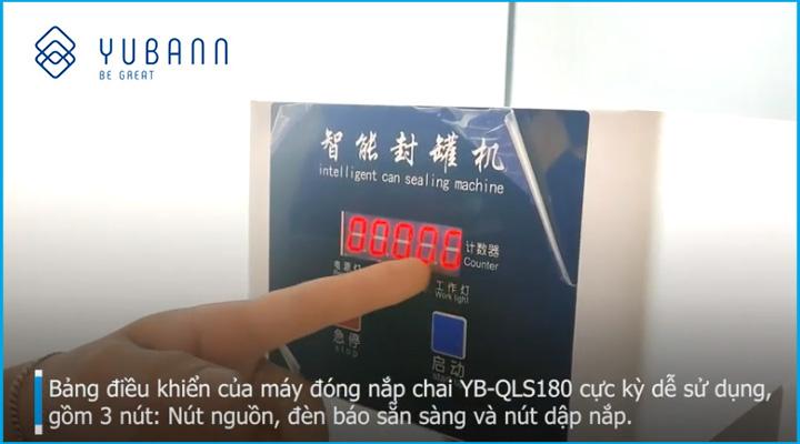 Bảng điều khiển Máy đóng nắp lon Yubann YB-QLS180