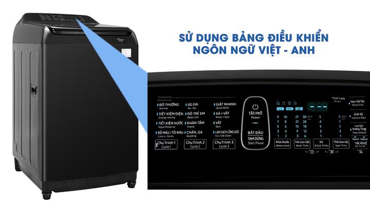 Bảng điều khiển Máy giặt Samsung Inverter WA-16R6380BV/SV 16 kg