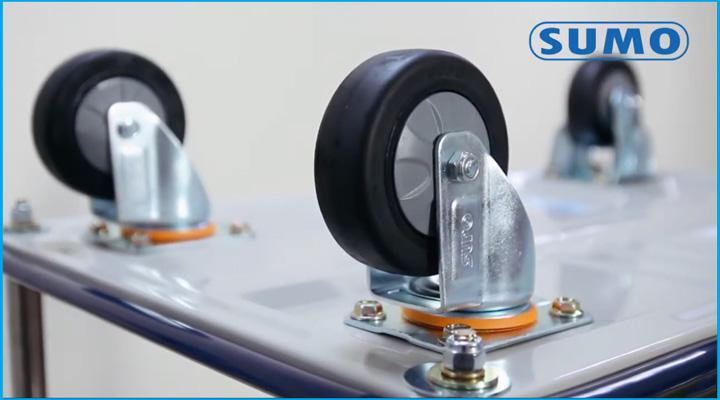 Bánh xe của xe đẩy hàng Sumo HB-211