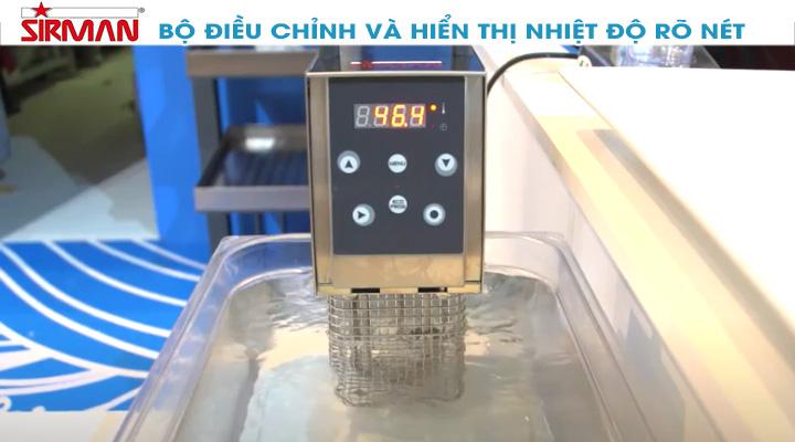 Bộ điều chỉnh Máy nấu chậm Sirman SOFTCOOKER Y09